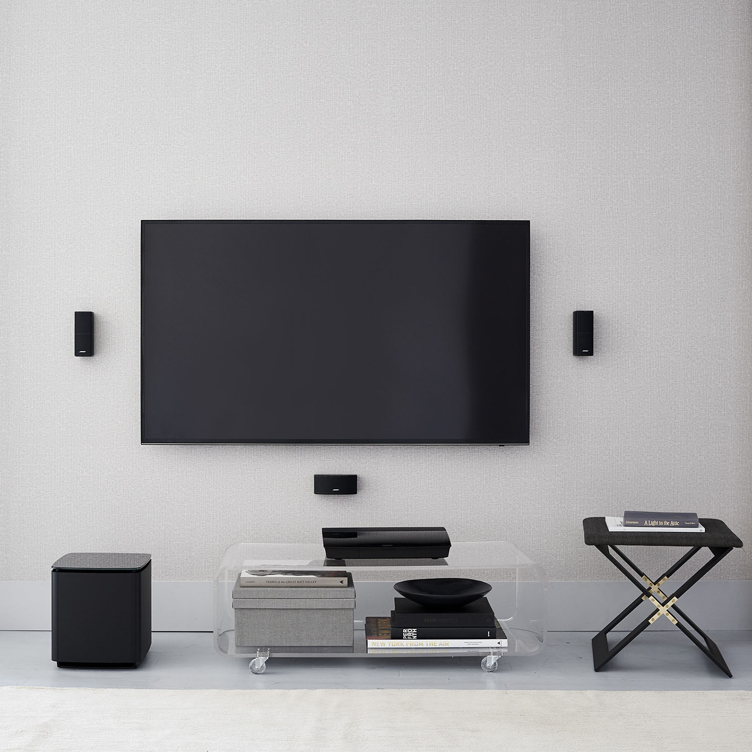 bose lifestyle 600 home entertainment system audio video solutions. Black Bedroom Furniture Sets. Home Design Ideas