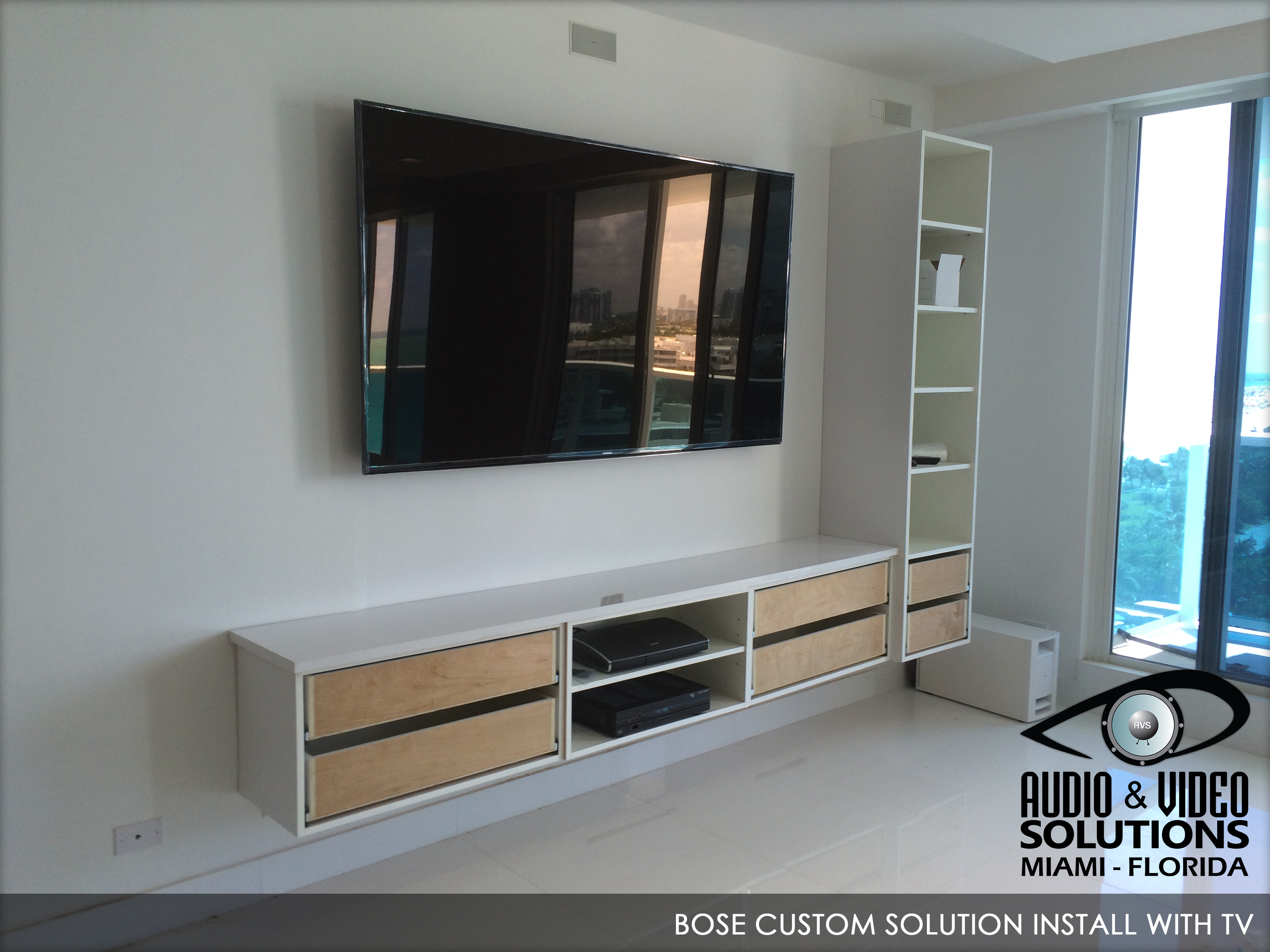 BOSE Custom Solution Install with TV