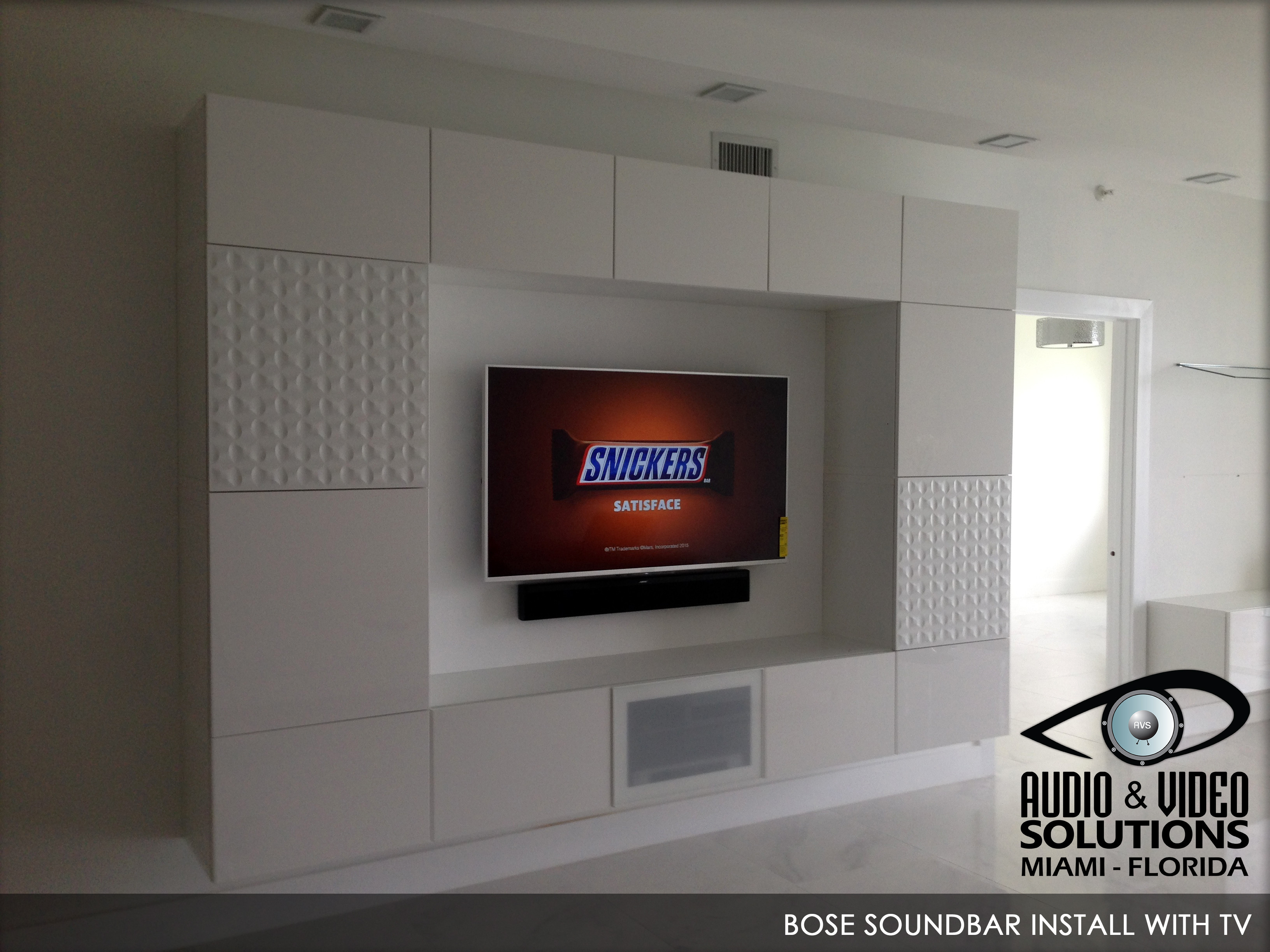 BOSE Soundbar Install with TV