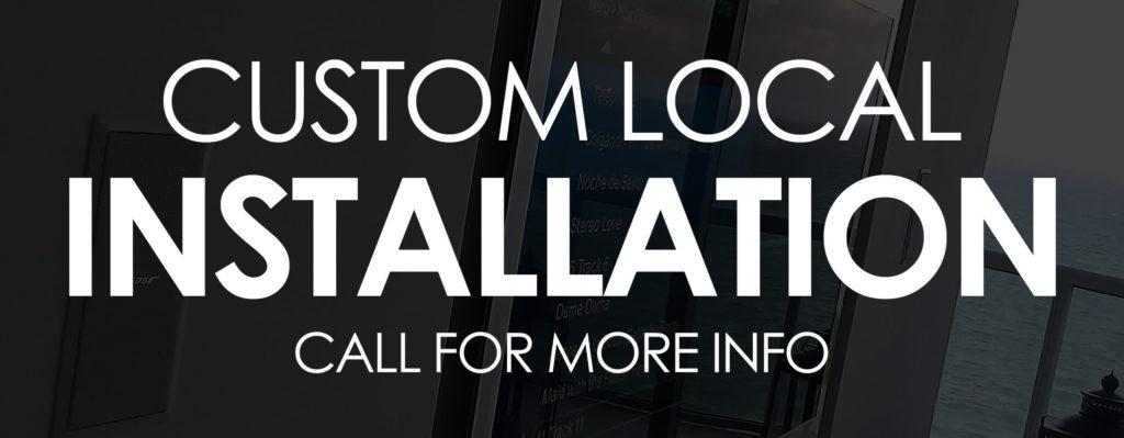 Custom Local Installation Banner